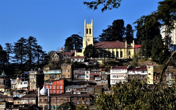 Shimla Taxi Tour Package from Chandigarh